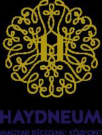 Haydneum-logo_arany-kek_teljes szoveg